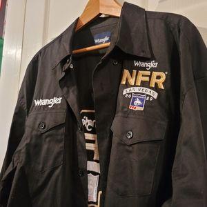 Wrangler National Finals Rodeo Men's 2XL shirt